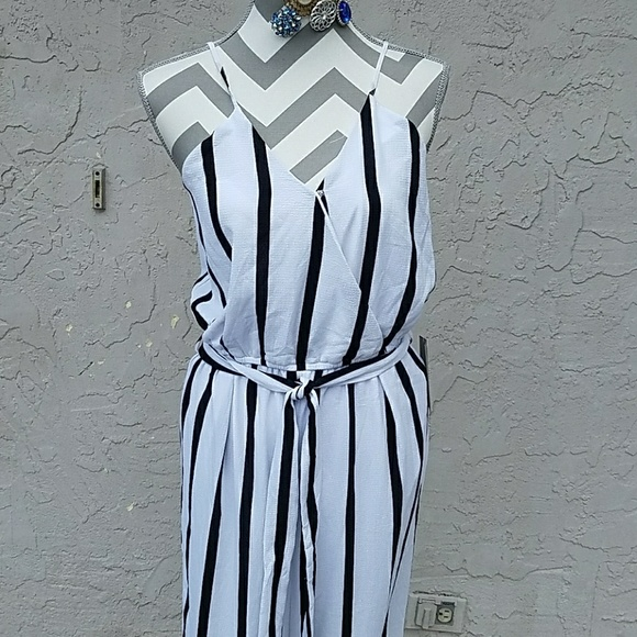 c0881dacbcb J for Justify striped flare jumpsuit.